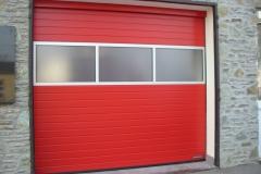 Csepregi Önkéntes Tűzoltóság (Ipari kapuk, komplett szerelésel - 2012)