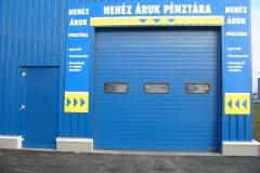 Ipari szekcionált kapuk